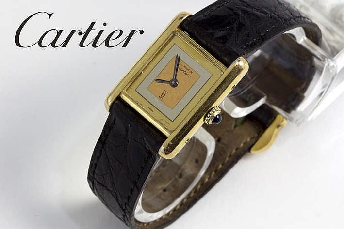 CARTIER volledig origineel quartz damespolshorloge -model uit de reeks