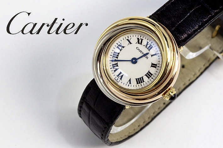 CARTIER quartz damespolshorloge - model