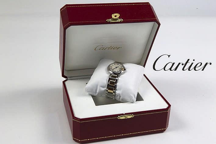 CARTIER volledig origineel quartz damespolshorloge - model