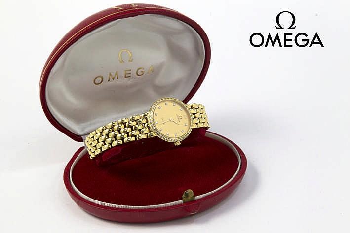 OMEGA volledig origineel quartz damespolshorloge - model