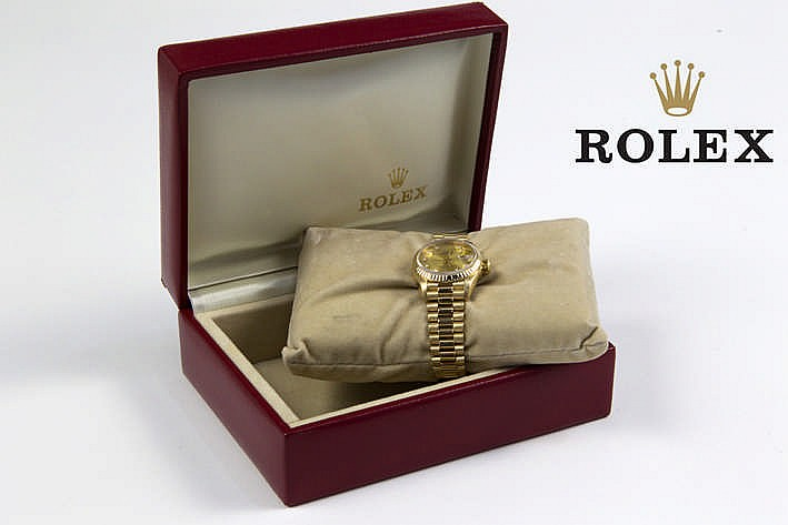 ROLEX volledig origineel automatisch damespolshorloge - model