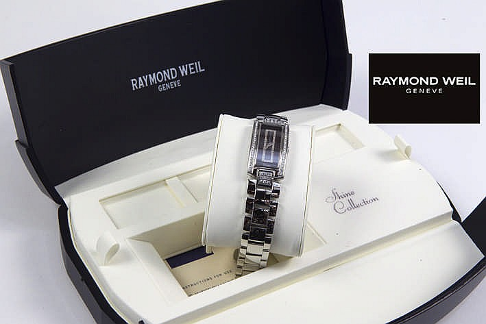 RAYMOND WEIL volledig origineel quartz damespolshorloge - model