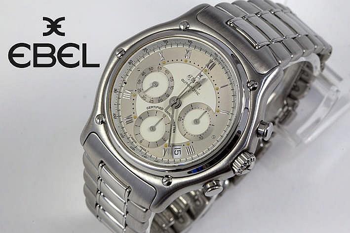 EBEL volledig origineel automatisch chronograaf polshorloge - model