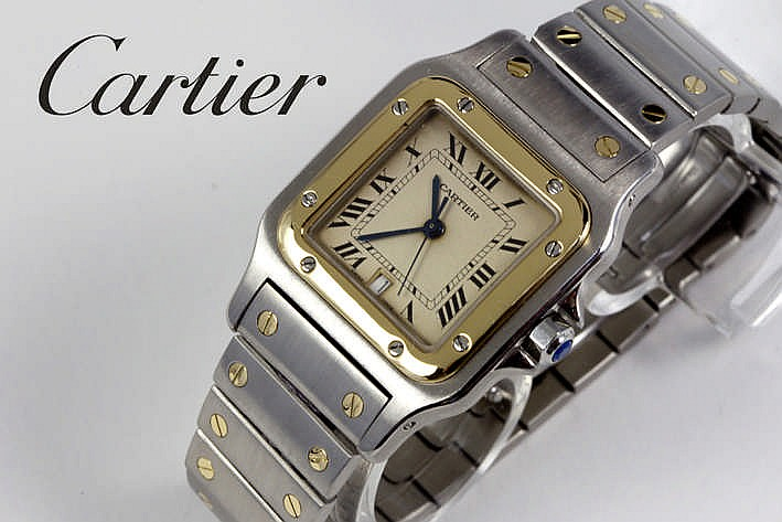 CARTIER volledig origineel quartz polshorloge - nieuw model
