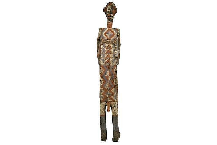 AFRIKA / KONGO (CENTRALE GEBIEDEN) zeldzame (doods)kist van de 'Ntomba (Ngata)' een zgn