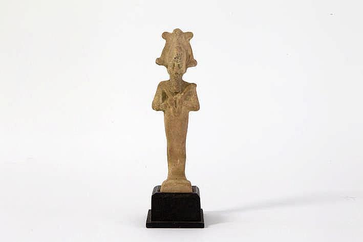 OUD-EGYPTE - XXVI° DYNASTIE (zgn Saïtische periode) grafvondst in aardewerk