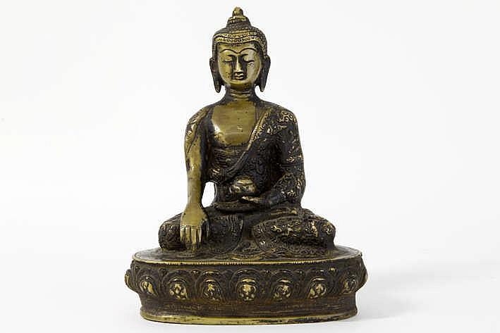 TIBET - 19° EEUW mooie sculptuur in brons :