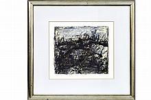 """DIERICKX KAREL (1940 - 2014) werk in gemengde techniek : """"Compositie"""" - 2"""