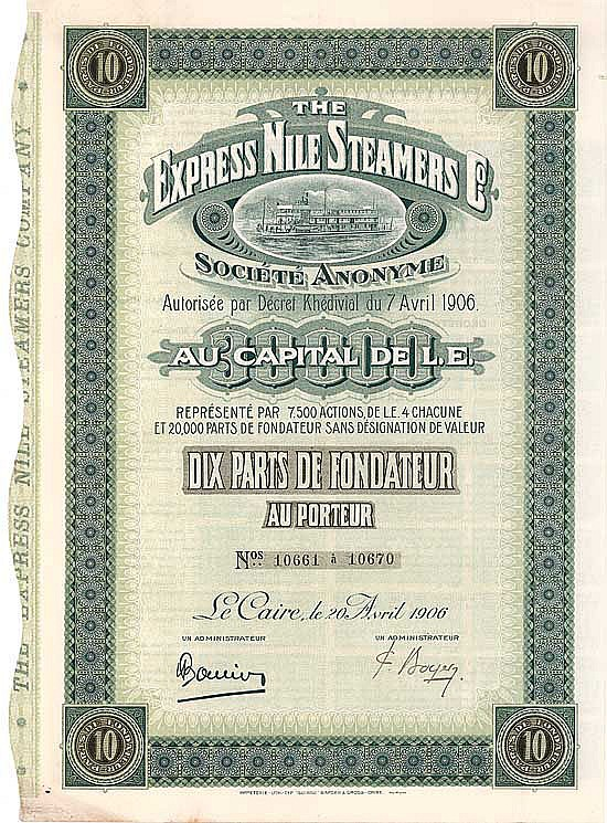 Express Nile Steamers Co.