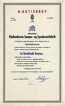 A/S Kjøbenhavns Lampe- og Lysekronefabrik