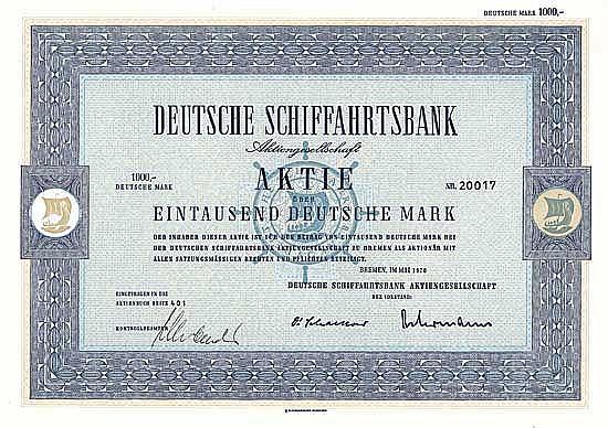 Deutsche Schiffahrtsbank AG