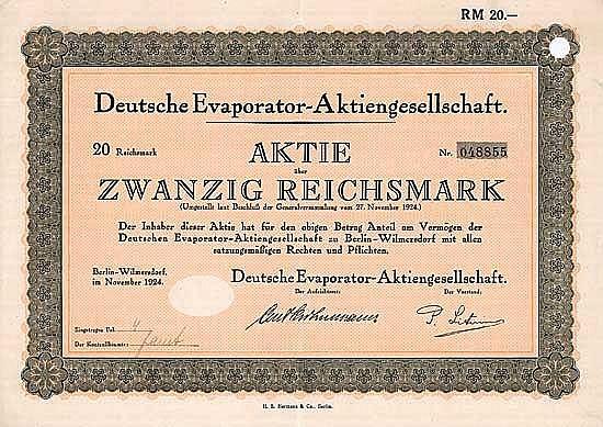 Deutsche Evaporator-AG