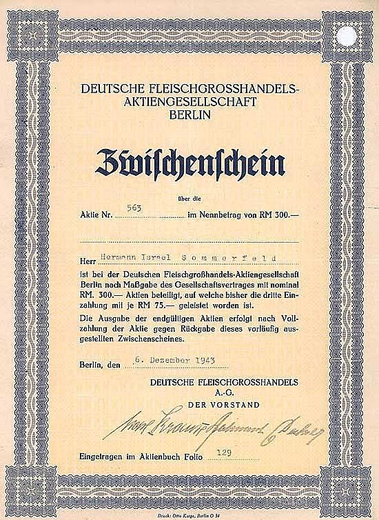 Deutsche Fleischgrosshandels-AG