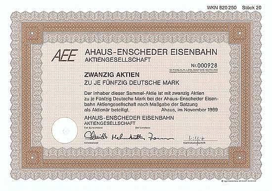 Ahaus-Enscheder Eisenbahn AG