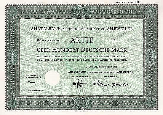Ahrtalbank AG