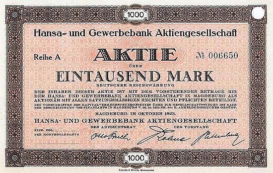 Hansa- und Gewerbebank AG