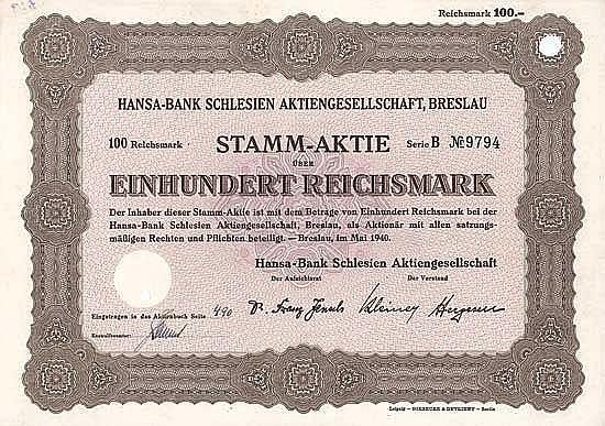 Hansa-Bank Schlesien AG