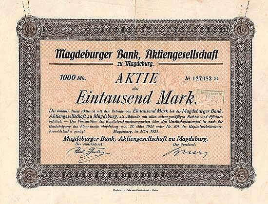 Magdeburger Bank AG