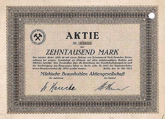 Märkische Braunkohlen AG