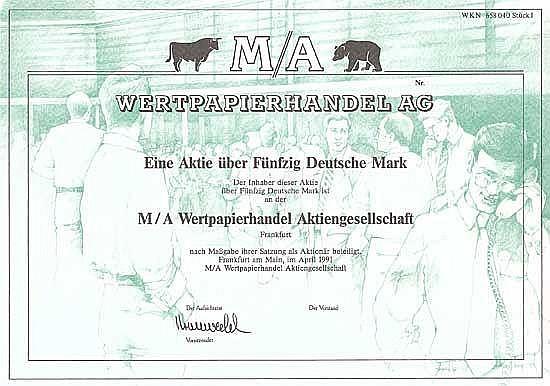 M/A Wertpapierhandel AG