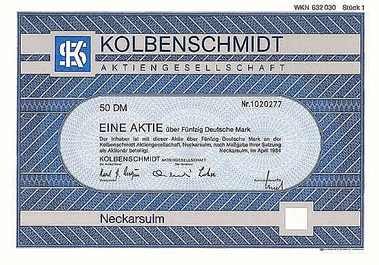 Kolbenschmidt AG