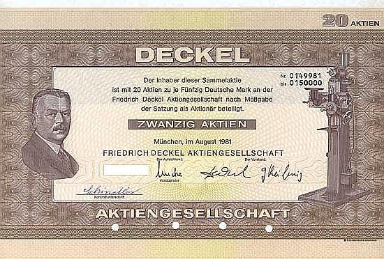Friedrich Deckel AG