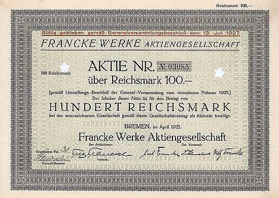 Francke Werke AG