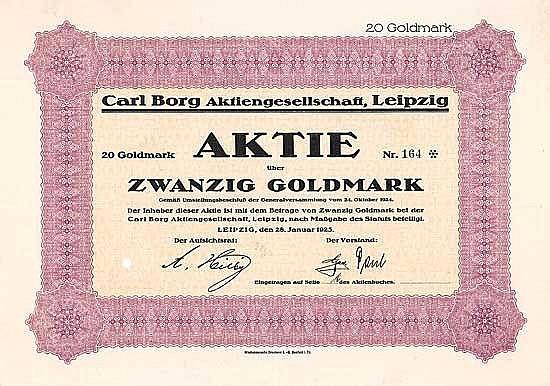 Carl Borg AG