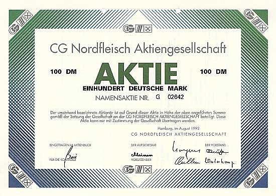 CG Nordfleisch AG