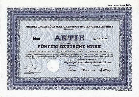 Magdeburger Rückversicherungs-AG