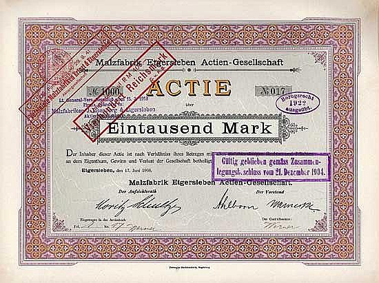 Malzfabrik Etgersleben AG