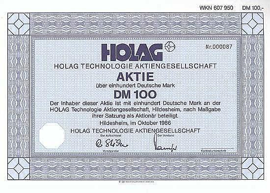 HOLAG Technologie AG