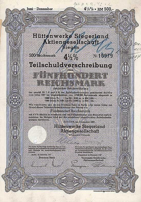 Hüttenwerke Siegerland AG