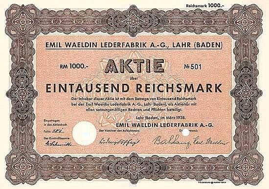 Emil Waeldin Lederfabrik AG