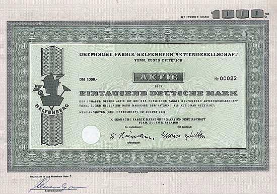 Chemische Fabrik Helfenberg AG vorm. Eugen Dietrich