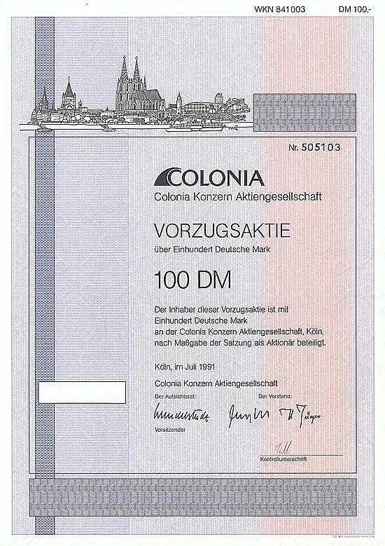 Colonia Konzern AG