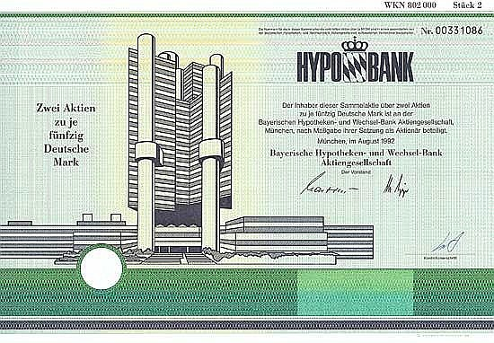 Bayerische Hypotheken- und Wechsel-Bank AG