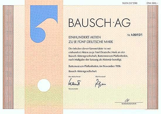 Bausch AG