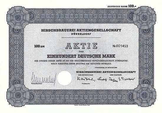 Hirschbrauerei AG