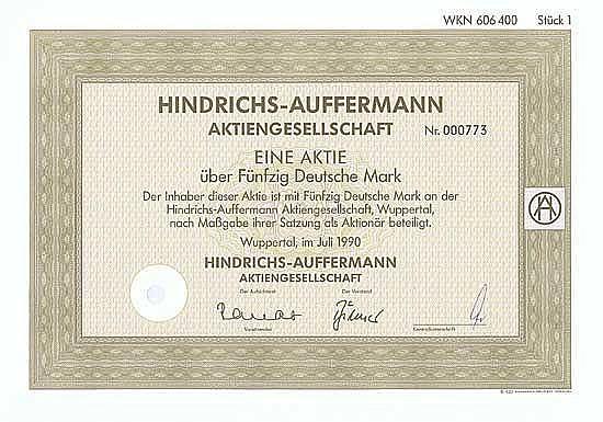 Hindrichs-Auffermann AG