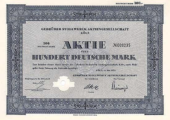 Gebrüder Stollwerck AG