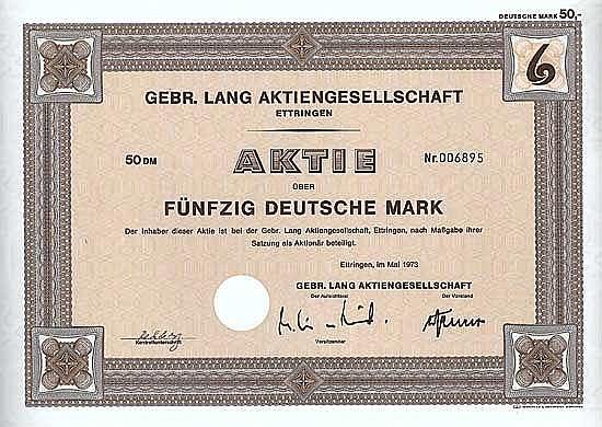 Gebr. Lang AG