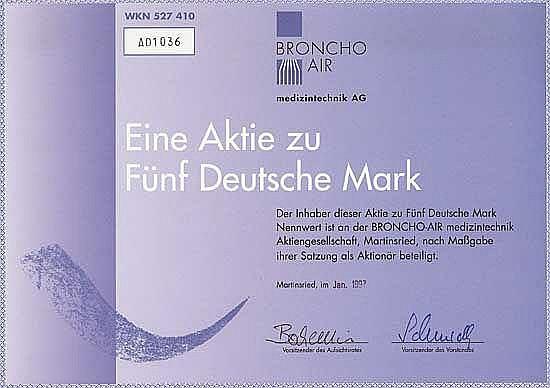 BRONCHO-AIR medizintechnik AG