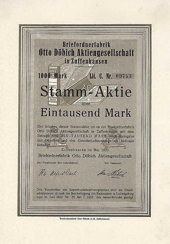 Briefordnerfabrik Otto Döbich AG