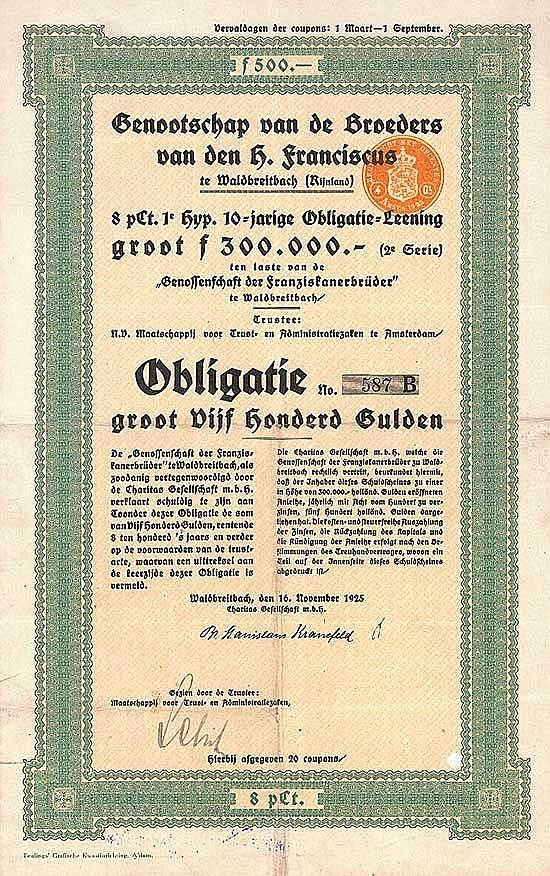 Genossenschaft der Franziskanerbrüder (Genootchap van de Broeders van den H. Franciscus)