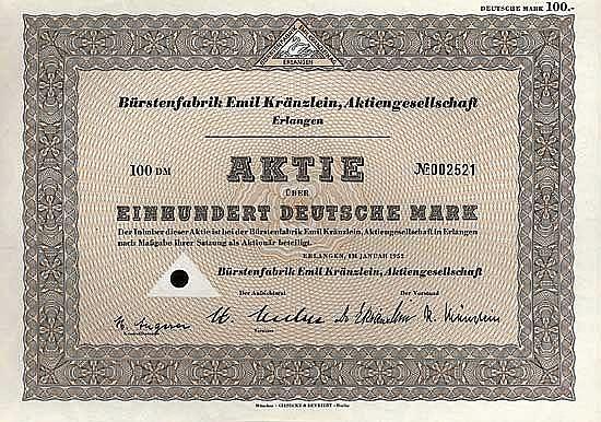 Bürstenfabrik Emil Kränzlein AG