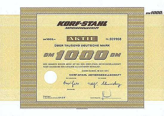 Korf-Stahl AG