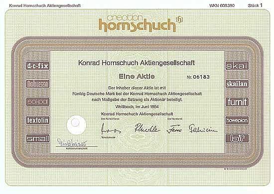 Konrad Hornschuch AG