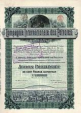 Cie. Internationale des Pétroles S.A.
