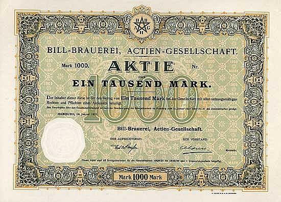 Bill-Brauerei AG